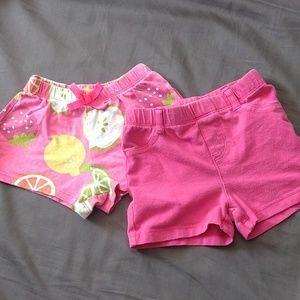 2 pairs of summer shorts